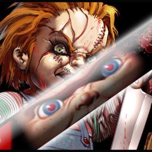 Killer Chucky Doll Cues
